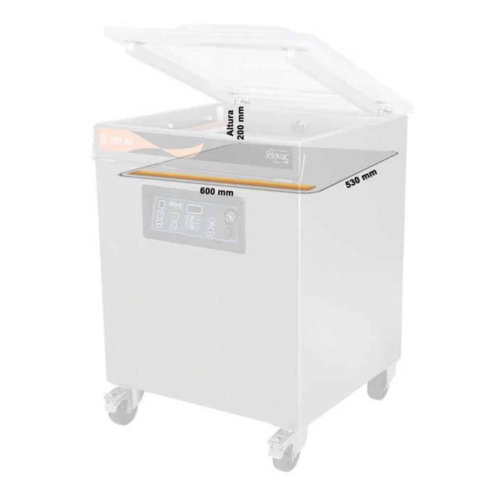 Máquina de Câmara Simples para Embalar a Vácuo 300