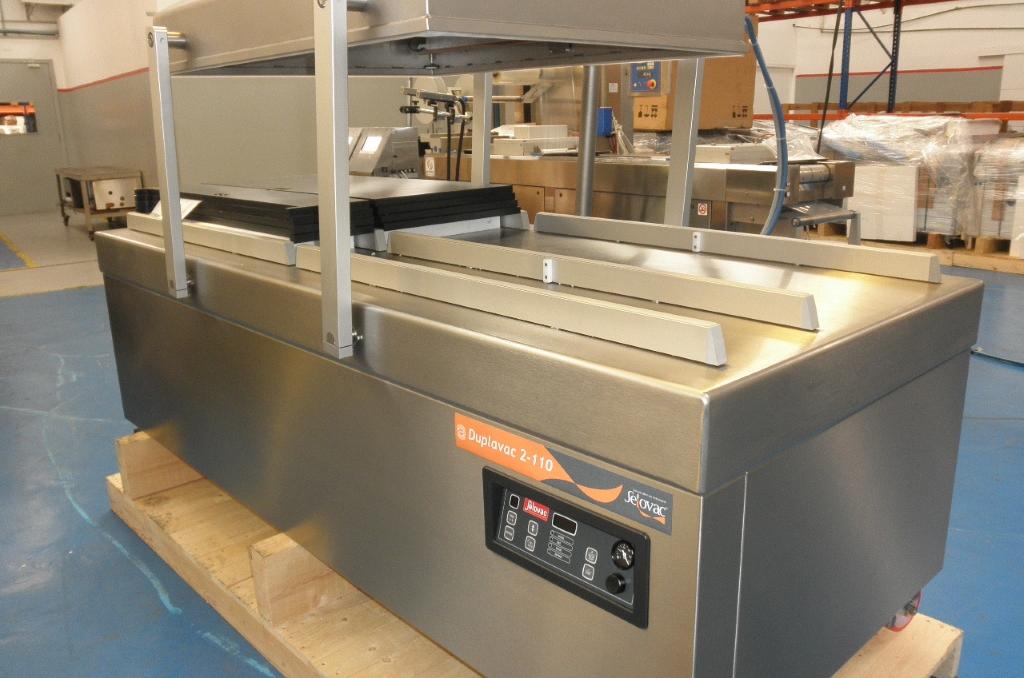Máquina de Câmara Dupla para Embalar a Vácuo Duplavac 2-110